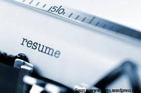 In Resume Writing, Less Could Mean More